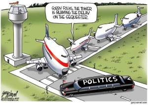 PoliticsPlaneBlockade