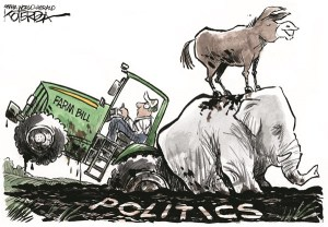 Jeff Koterba Cartoon for June 23, 2013: Farm Bill