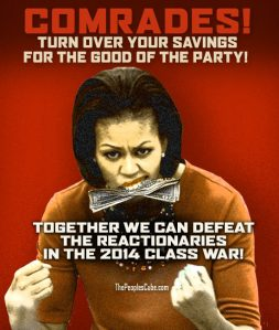 Michelle_Obama_Money_Class_War_red