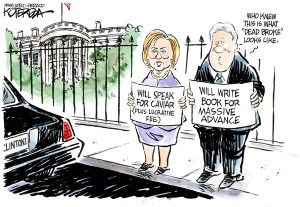 "Jeff Koterba cartoon for June 11, 2014 ""Clinton"""
